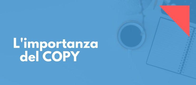 l'importanza del copy